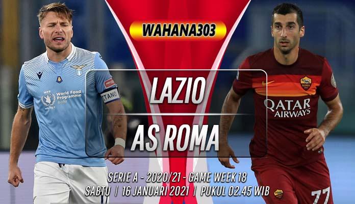Prediksi Lazio vs AS Roma 16 Januari 2021