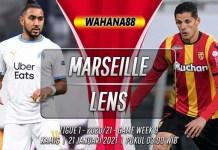 Prediksi Marseille vs Lens 21 Januari 2021
