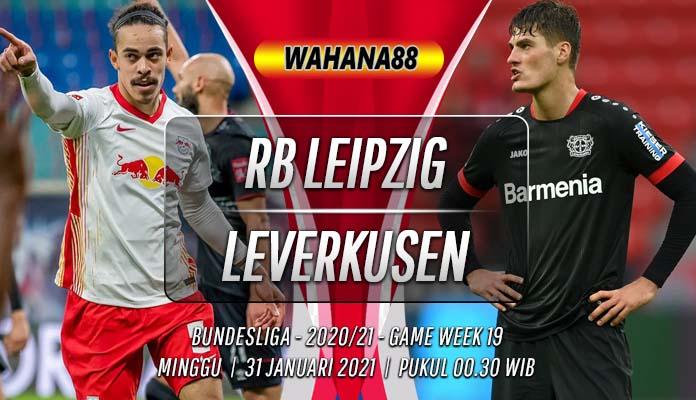 Prediksi RB Leipzig vs Bayer Leverkusen 31 Januari 2021