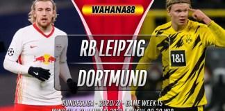 Prediksi RB Leipzig vs Borussia Dortmund 10 Januari 2021