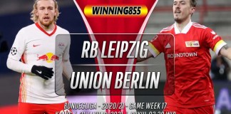 Prediksi RB Leipzig vs Union Berlin 21 Januari 2021