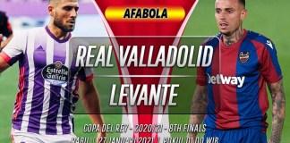 Prediksi Real Valladolid vs Levante 27 Januari 2021