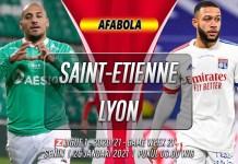 Prediksi Saint-Etienne vs Lyon 25 Januari 2021