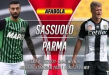 Prediksi Sassuolo vs Parma 17 Januari 2021