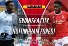 Prediksi Swansea City vs Nottingham Forest 23 Januari 2021