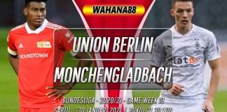 Prediksi Union Berlin vs Monchengladbach 30 Januari 2021