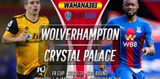 Prediksi Wolves vs Crystal Palace 9 Januari 2021