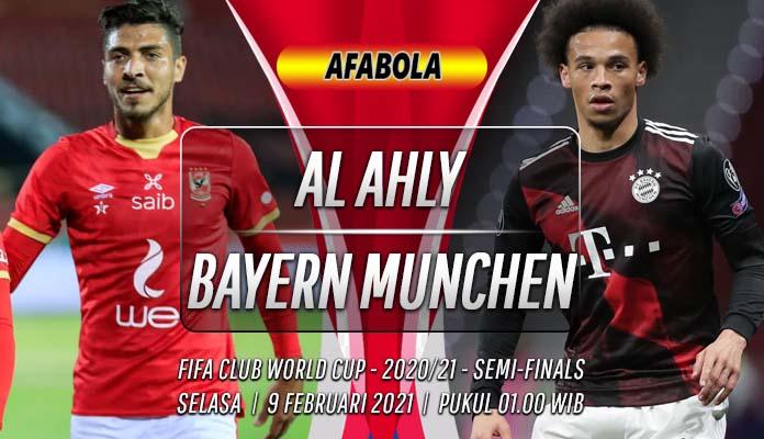 Prediksi Al Ahly vs Bayern Munchen 9 Februari 2021
