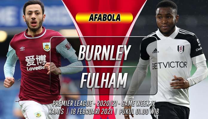 Prediksi Burnley vs Fulham 18 Februari 2021