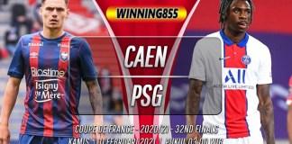 Prediksi Caen vs PSG 11 Februari 2021