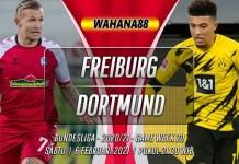 Prediksi Freiburg vs Borussia Dortmund 6 Februari 2021
