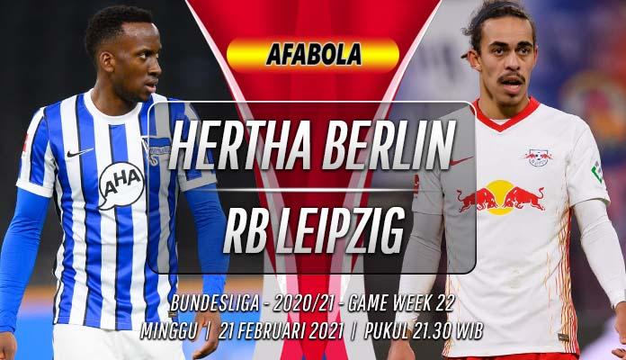 Prediksi Hertha Berlin vs RB Leipzig 21 Februari 2021