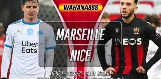 Prediksi Marseille vs Nice 18 Februari 2021