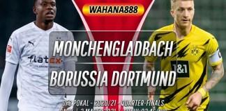 Prediksi Monchengladbach vs Borussia Dortmund 3 Maret 2021