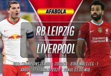Prediksi RB Leipzig vs Liverpool 17 Februari 2021