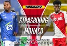 Prediksi Strasbourg vs Monaco 4 Maret 2021