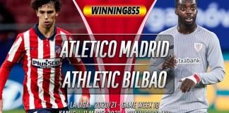 Prediksi Atletico Madrid vs Athletic Bilbao 11 Maret 2021