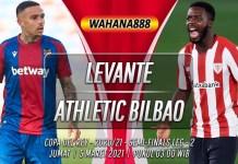 Prediksi Levante vs Athletic Bilbao 5 Maret 2021