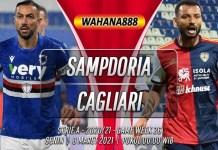 Prediksi Sampdoria vs Cagliari 8 Maret 2021