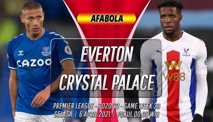 Prediksi Everton vs Crystal Palace 6 April 2021
