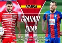 Prediksi Granada vs Eibar 23 April 2021