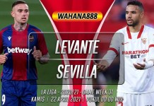 Prediksi Levante vs Sevilla 22 April 2021