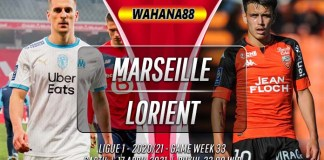Prediksi Marseille vs Lorient 17 April 2021