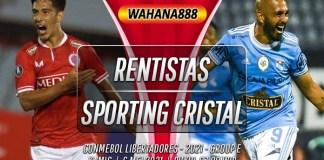 Prediksi Rentistas vs Sporting Cristal 6 Mei 2021