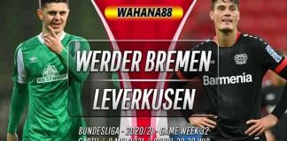 Prediksi Werder Bremen vs Bayer Leverkusen 8 Mei 2021