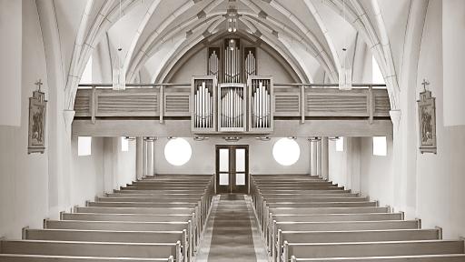 Iglesia para celebrar bautizo