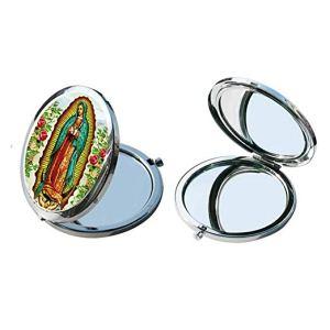 espejo compacto virgen de guadalupe
