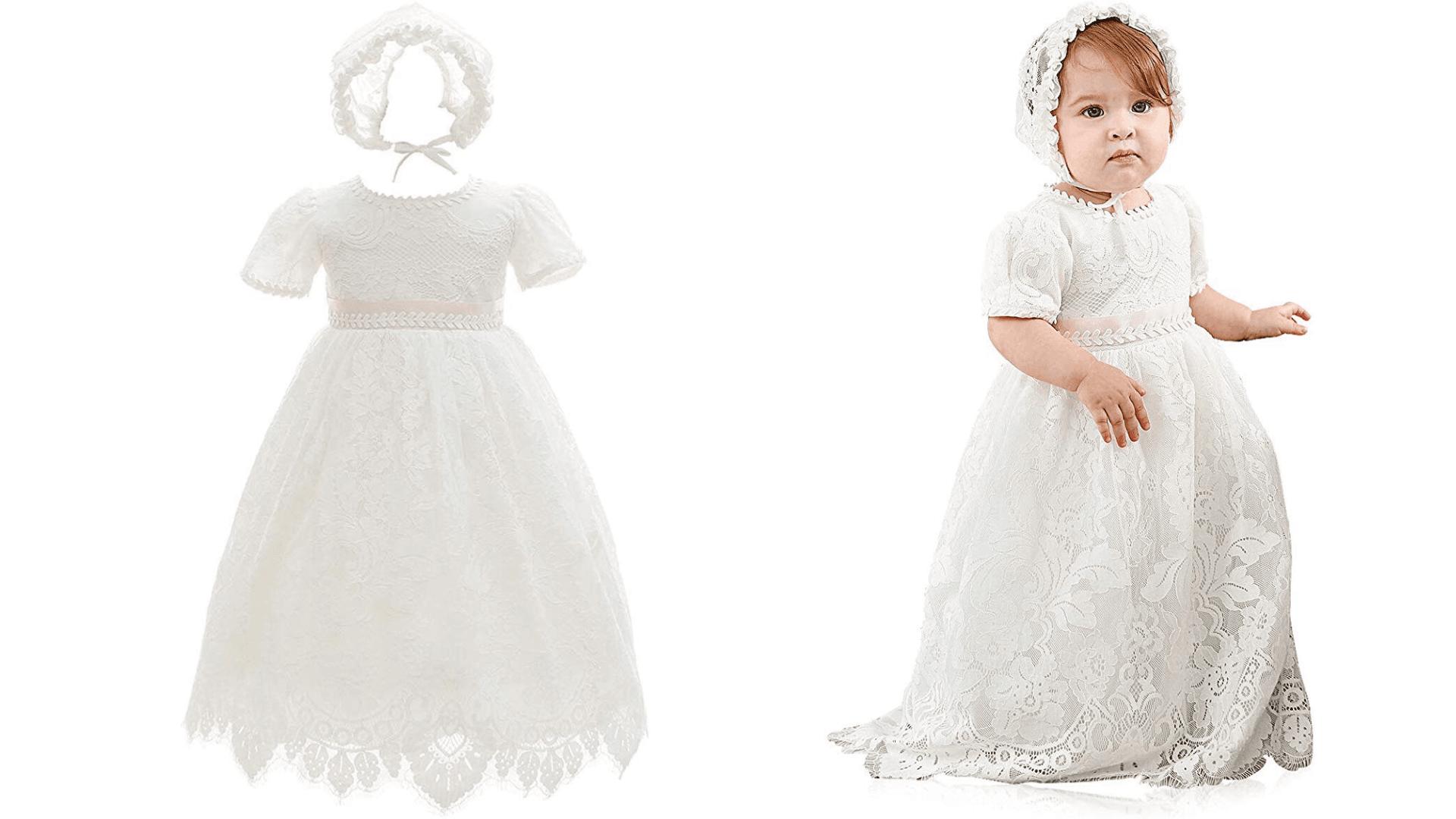 ≫ Vestidos de bautizo modernos y hermosos para niñas ❤️