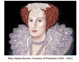 Mary Sidney Herbert, Countess of Pembroke by John Tollett