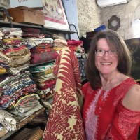 Our private trunk show of vintage textiles