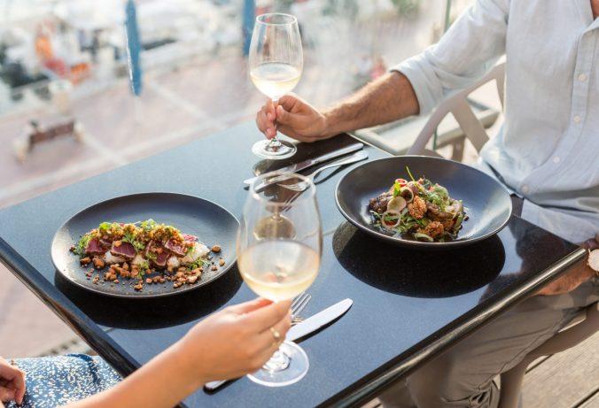 Herbert Samuel - kosher restaurant - herzliya pituach - with view