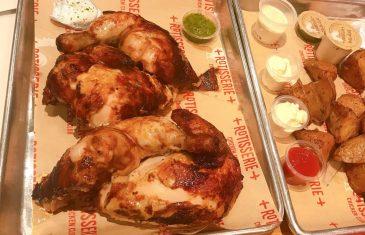 Rotisserie Chicken Club - Sarona Market - Kosher - Half Chicken