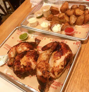 Rotisserie Chicken Club - Sarona Market - Kosher
