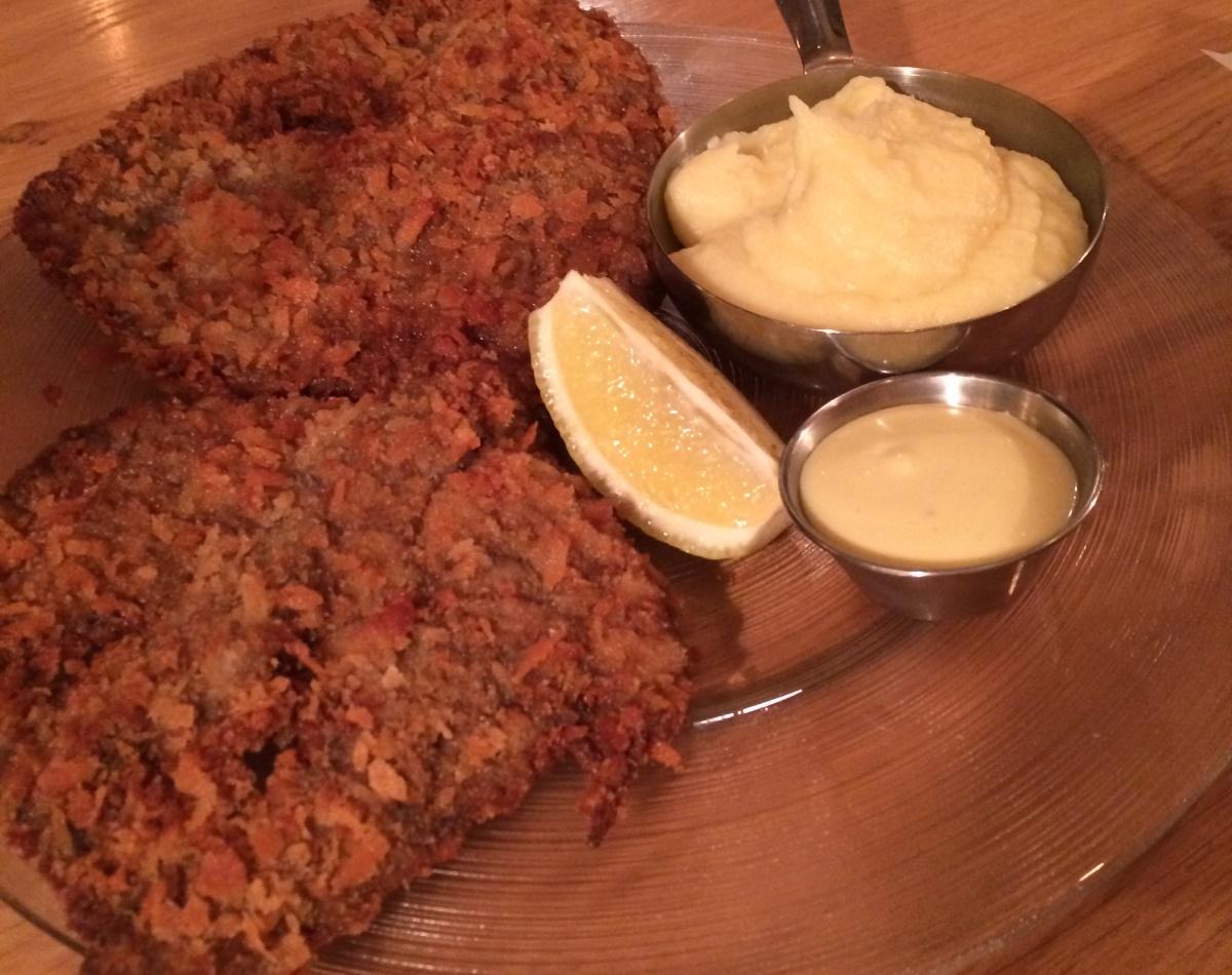 Menza - Jerusalem - Not Kosher - Schnitzel