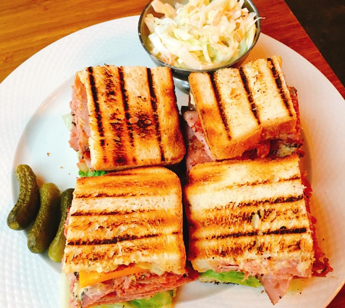 R & R Diner - Jerusalem - Not Kosher - Reuben Sandwich
