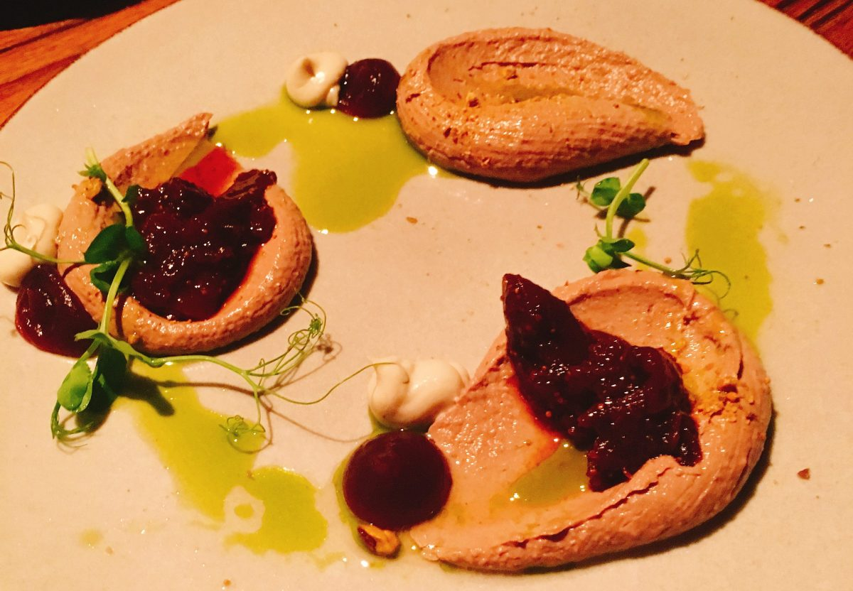 Liver Pate-Whiskey Bar - Sarona Tel Aviv-Kosher