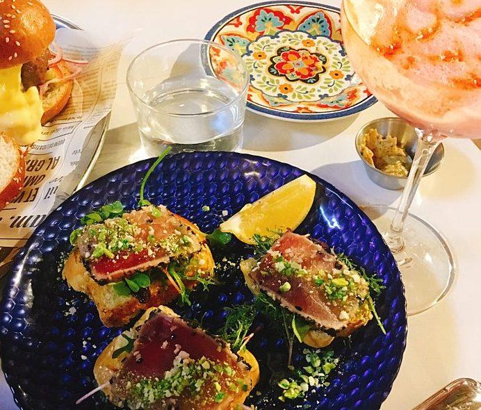 Andalucia - Kosher Cocktails -Jerusalem - Tuna Tataki