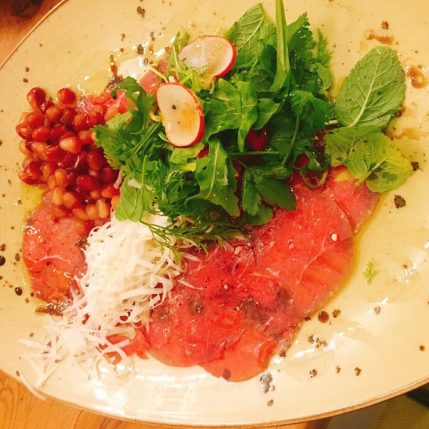 Roots Restaurant - Kosher -Akko - Beef Carpaccio