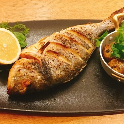 Roots Restaurant - Kosher -Akko - Grilled Fish