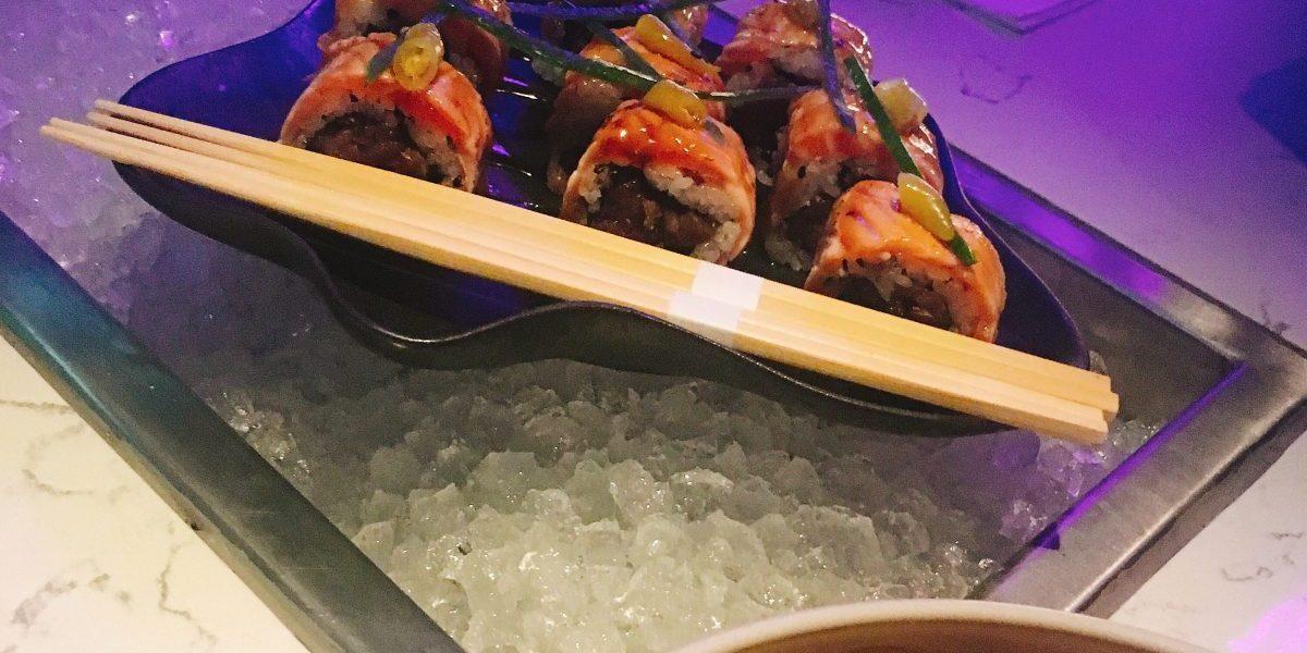Tuna Tartare Sushi Jackos Son Kosher Jerusalem Restaurant