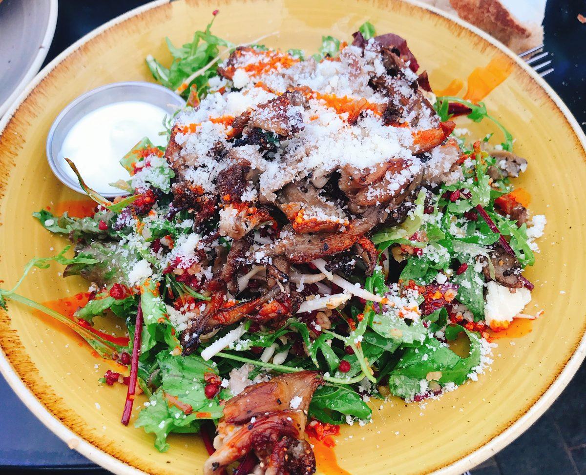 Yum Salad Naadi Cafe Jerusalem Kosher