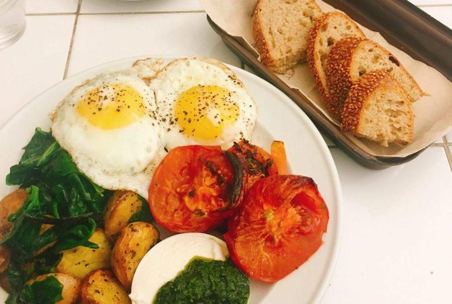 Farmers Breakfast Meshek Ofaimme Jerusalem Kosher