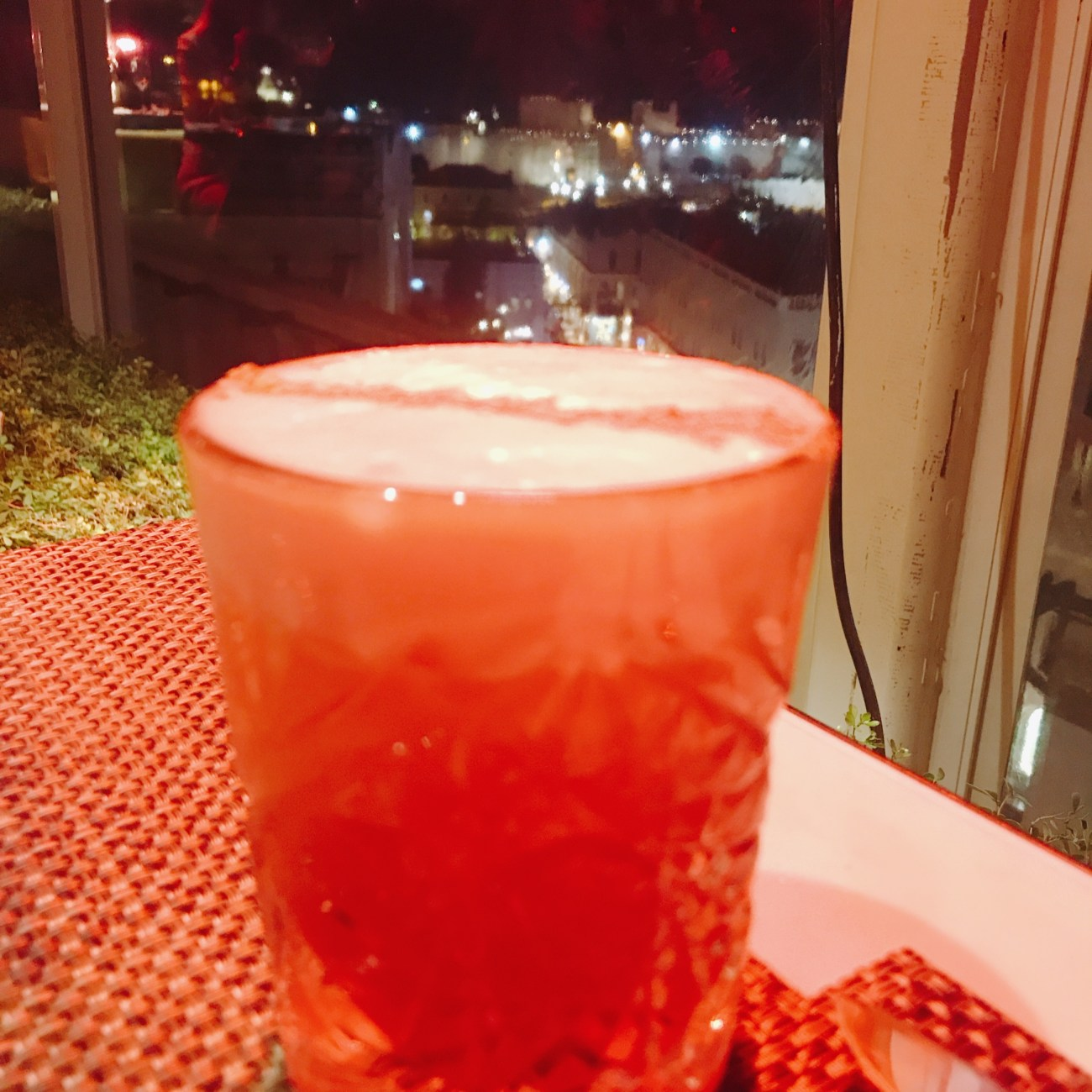 Ras al Hanout Cocktail, Rooftop Restaurant, Mamilla Hotel