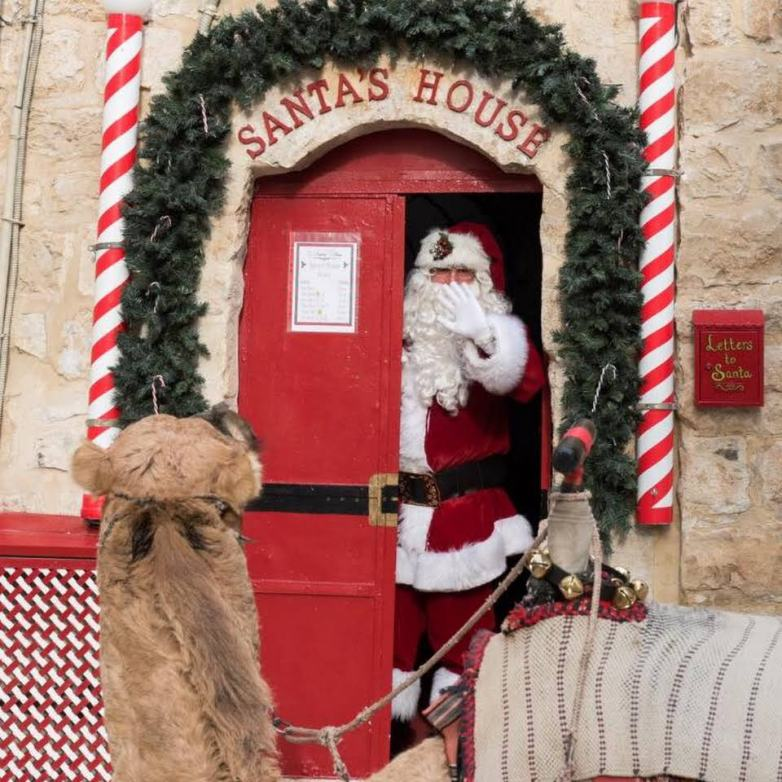 Santa's House Jerusalem Old City