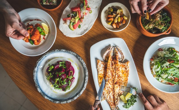 Sharak Restaurant Tel Aviv Fish Credit Shani Brill