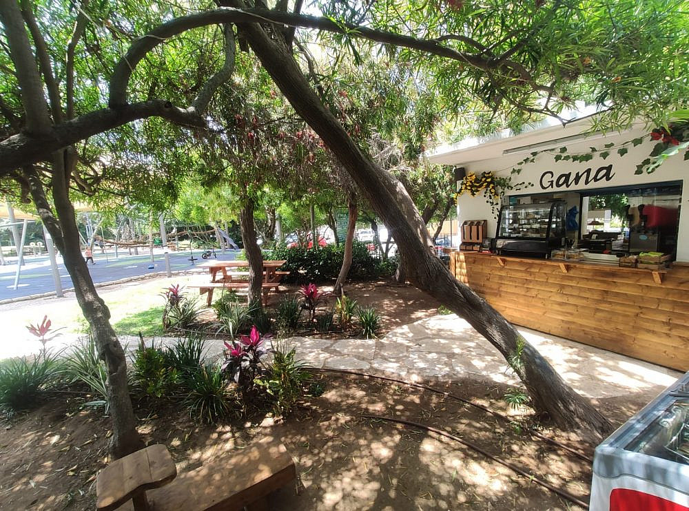 Gana - Cafe - Givatayim - Credit Guy Garbi